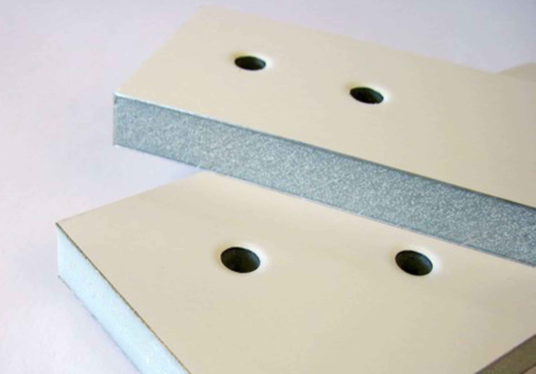 Composite parts with holes